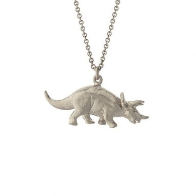 dinosaur silver necklace jewellers northampton